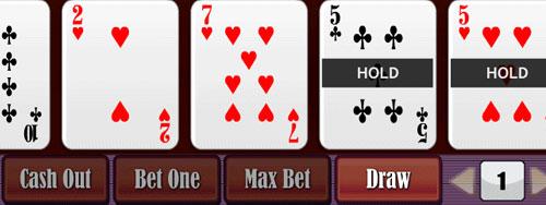 Video poker holdem
