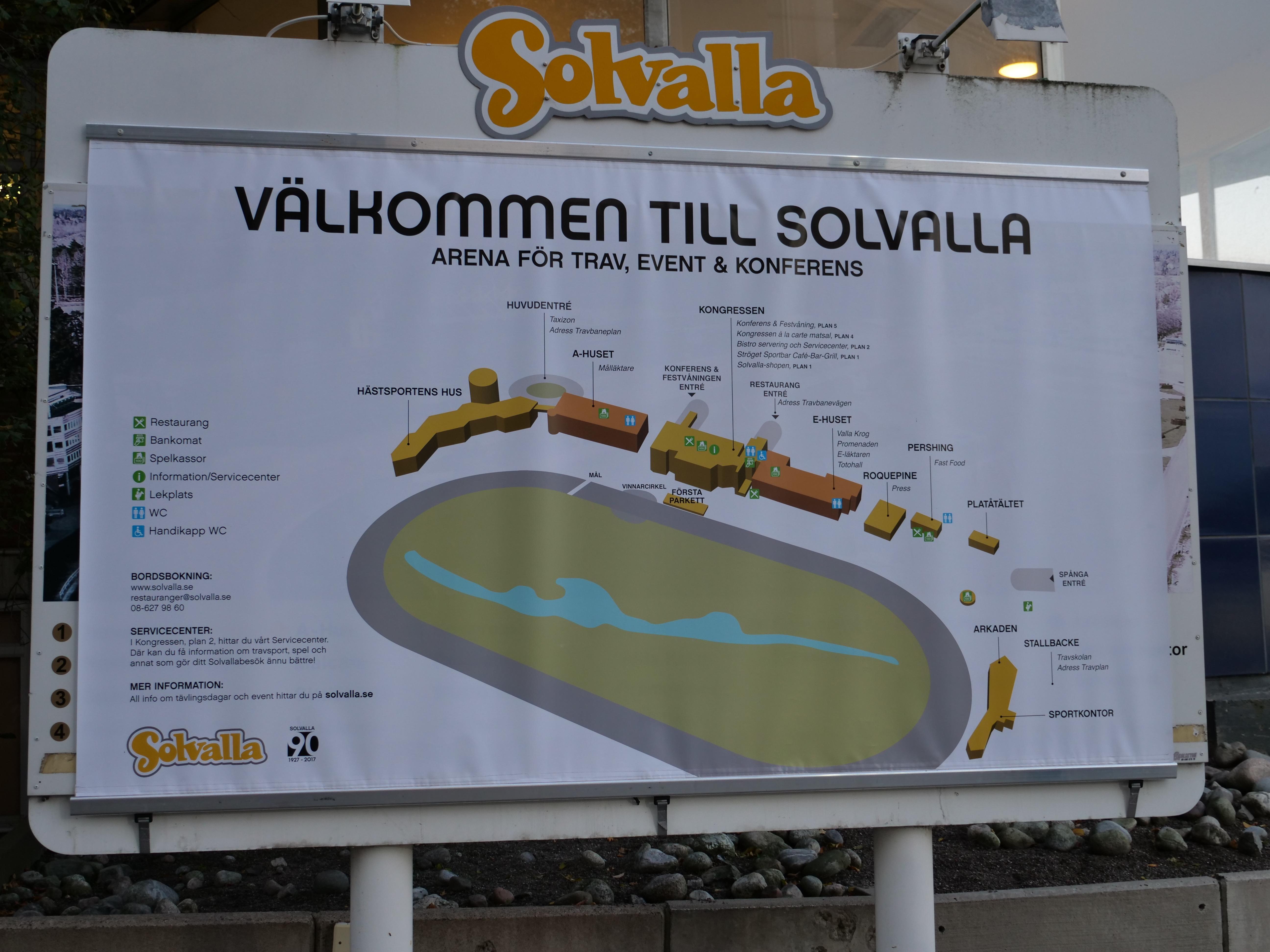 karta solvalla SOLVALLA   Besök Travbanan Solvalla i Stockholm   karta solvalla
