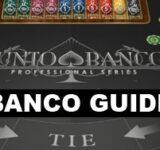 Hur man spelar Punto Banco